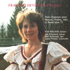 François Devienne: Three Quartets for Bassoon, Violin, Viola and Bass, Op. 73