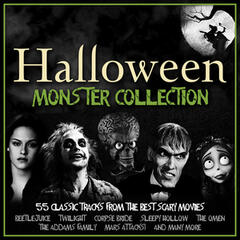 Halloween Monster Collection - 55 Classic Tracks from the Best Scary Movies
