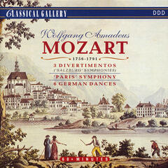 "Mozart: Salzburg Symphonies - Symphony No. 31 ""Paris"" - 6 German Dances"
