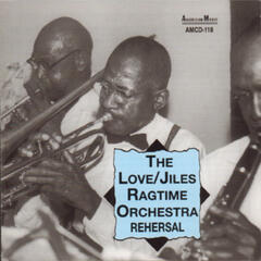 The Love/Jiles Ragtime Orchestra Rehersal