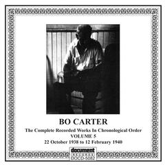Bo Carter, Vol. 5 (1938-1940)
