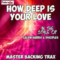 How Deep Is Your Love (Originally Performed by Calvin Harris & Disciples) [Karaoke Versions]