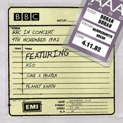 BBC In Concert [4th November 1982, recorded at Hammersmith Odeon 4/11/82 tx 11/12/82] (4th November 1982, recorded at Hammersmith Odeon 4/11/82 tx 11/12/82)