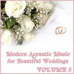 Modern Acoustic Music for Beautiful Weddings, Vol. 5