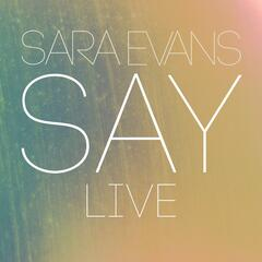 Say (Live)