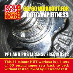 60 / 60 Workout Music for Boot Camp Fitness