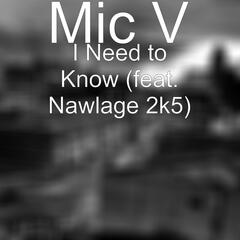 I Need to Know (feat. Nawlage 2k5)