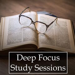 Deep Focus Study Sessions - 20 Rain and Ocean Melodies for Relaxation, Stress & Anxiety Relief, and Study Success