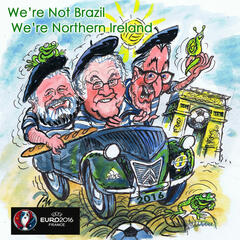 We're Not Brazil, We're Northern Ireland