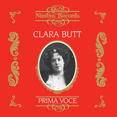 Clara Butt (Recorded 1909 - 1925)