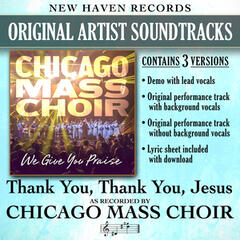 Thank You Thank You Jesus (Performance Tracks)