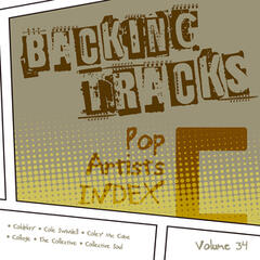 Backing Tracks / Pop Artists Index, C, (Coldplay / Cole Swindell / Coley MC Cabe / Collage / The Collective / Collective Soul), Vol. 34