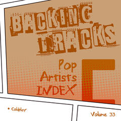 Backing Tracks / Pop Artists Index, C, (Coldplay), Vol. 33