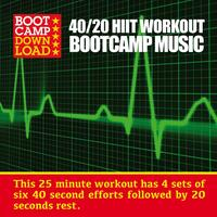 40 / 20 Hiit Workout Bootcamp Music