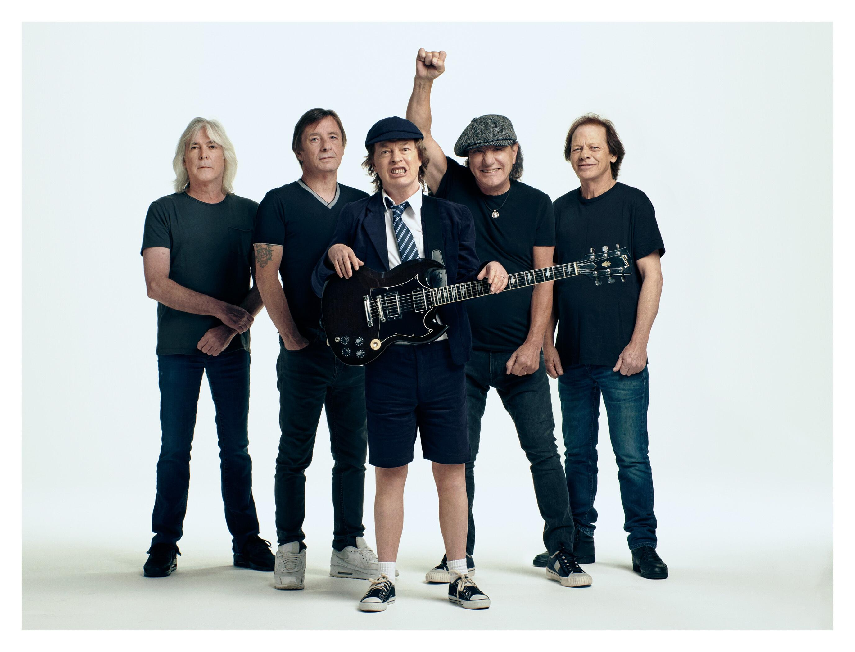 the band history of acdc Ac/dc comes from a label one of the band members saw on a sewing machine  when he looked it up, it turned out to have meant alternating current / direct.