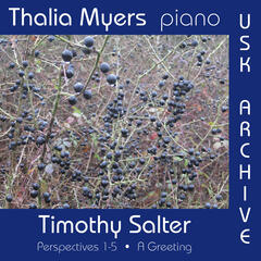 Timothy Salter's Perspectives 1-5: A Greeting
