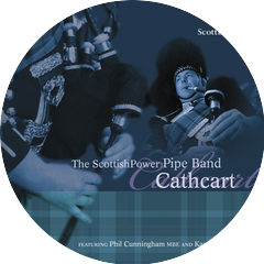 The ScottishPower Pipe Band