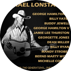 Michael Lonstar With Georgette Jones