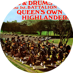 The Pipes Of The Queen's Own Highlanders