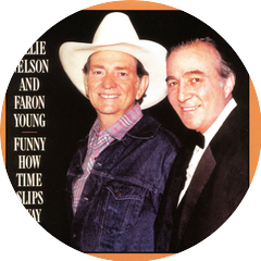 Willie Nelson with Faron Young