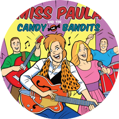 Miss Paula and the Candy Bandits