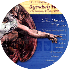 The Genesis Recordings of Legendary Pianists, Vol. #2