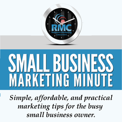 Small Business Marketing Minute (Audio)