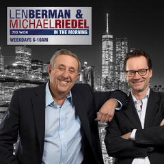Len Berman and Michael Riedel in the Morning