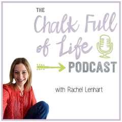 The Chalk Full of Life Podcast™ with Kelli Wise: transparent talk and tools for living your best teacher life