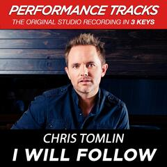 I Will Follow (Medium Key Performance Track With Background Vocals)
