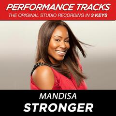 Stronger (Medium Key Performance Track With Background Vocals)