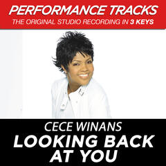 Looking Back At You (Performance Track In Key Of Eb/G)
