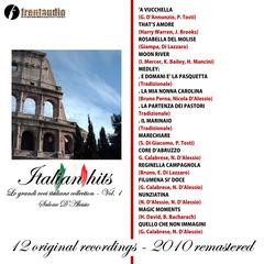 Italian Hits : Grandi voci Italiane collection, Vol. 1