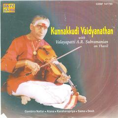 Kunnakudi With Thavil A R Subramaniam