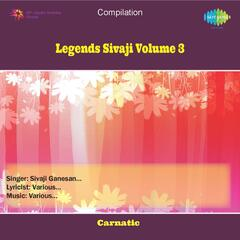 Sivaji - Legends - Vol 3