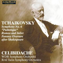 Piotr Iljic Tchaikovsky : Symphony No. 6 Pathétique, Romeo and Juliet, Fantasy Overture after Shakespeare