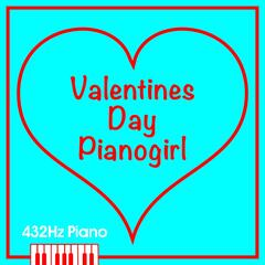 Valentines Day Pianogirl