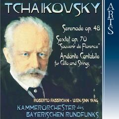 Tchaikovsky: Music for Strings & Flute Concerto