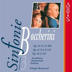 Boccherini: Sinfonie No. 1, Op. 35, Op. 45 & Op. 41, Vol. 3