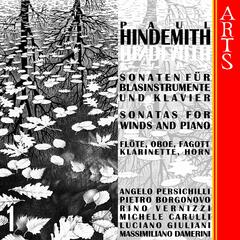 Hindemith: Sonatas for Winds and Piano, Vol. 1