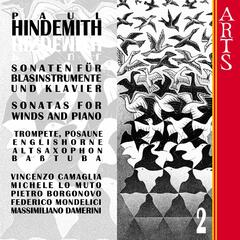 Hindemith: Sonatas for Winds and Piano, Vol. 2
