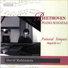 David Rubinstein plays Beethoven Pastoral and Tempest Sonatas
