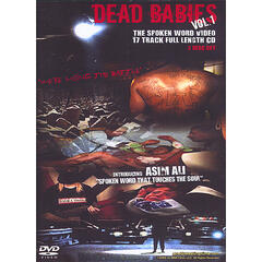 "Dead Babies Vol #1 "" The Spoken Word CD/DVD"" 2 disc set"