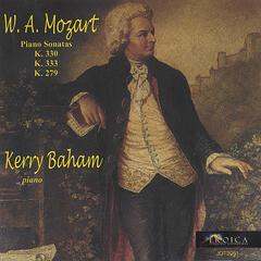 W.A. Mozart Piano Sonatas: K. 330, K. 333, K. 279