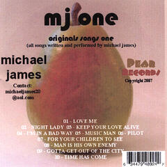 MJ ONE - ORIGINALS SONGS ONE