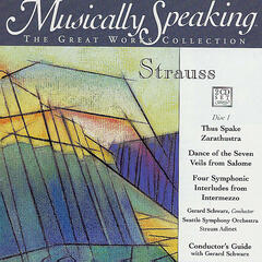 Thus Spake Zarathustra, Dance of the Seven Veils, Four Symphonic Interludes -Strauss, Musically Speaking