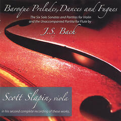 BACH SONATAS AND PARTITAS Recorded on Viola