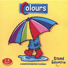 Colours - cd & booklet of nursery songs