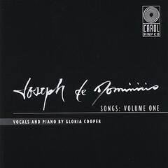 Joseph de Dominicis Songs: Volume One