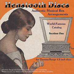 HensTooth Discs Authentic Musical Box Arrangements - Disc 1